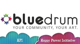 Blue Drum - Happy Parent Initiative